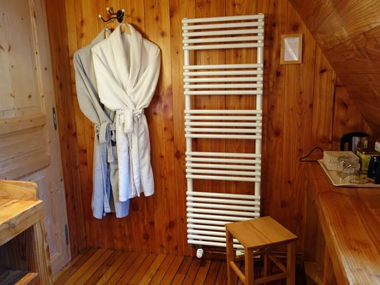 Salle de bain Chambre de Marie détail