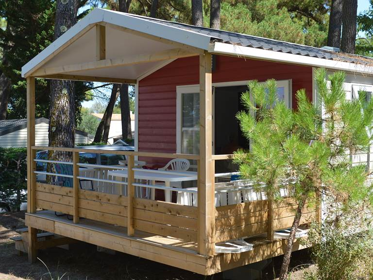 Mobil-Home 1 Chambre Crevette - Camping Les Pins d'Oléron