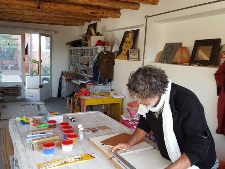 atelier d'artiste à disposition
