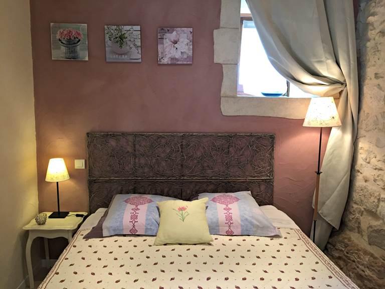 La chambre du gîte La Grangette