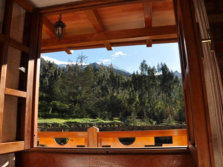 Vista al exterior desde el cuarto