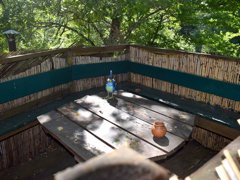 terrasse sommet cabane parentale