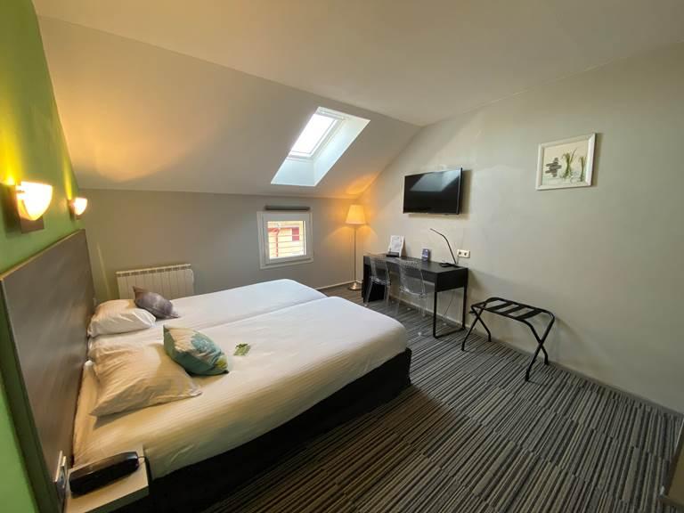 Chambre standard 2 lits