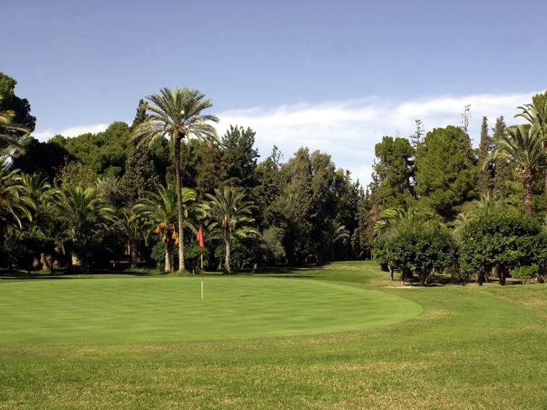 Golf Royal Marrakech - Green du n°18 Par 3