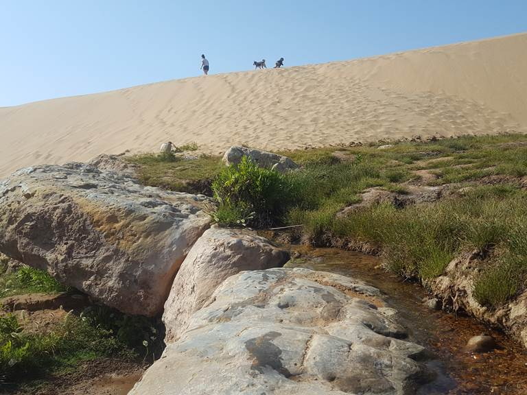 Riad Baoussala - promenade à la cascade de Sidi Mbark