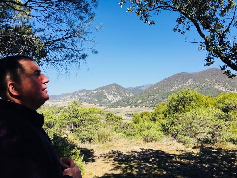 Photo de Guy prise à La Bastide aux Bois. Vue sur le parc de Baronnies en Drôme Provençale