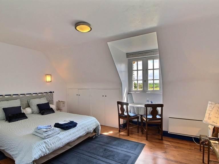Chambre bleue du Trégonnec