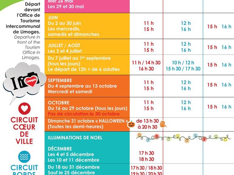 Calendrier Le Petit Train 2021