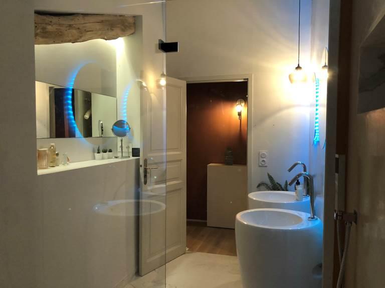 Suite Cyprès et Acacias - Salle de douche