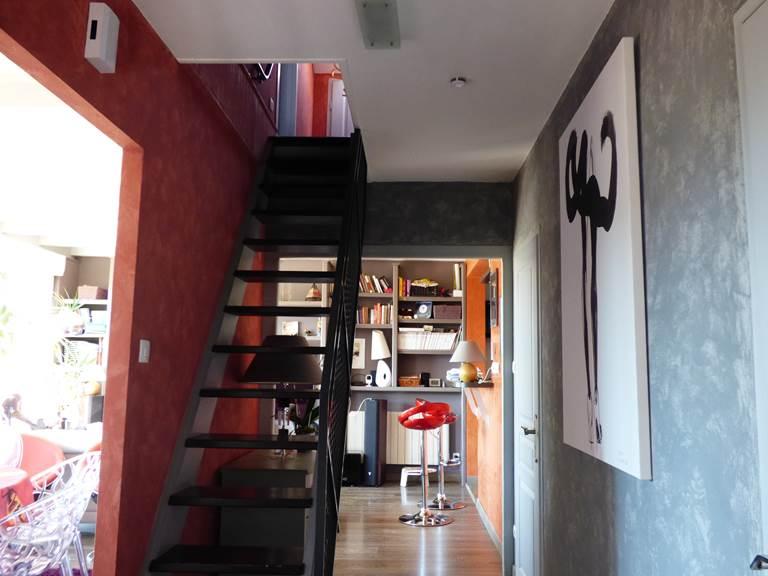 Escalier 3 Chambres d'hôtes La colline aux Yeux Doubs