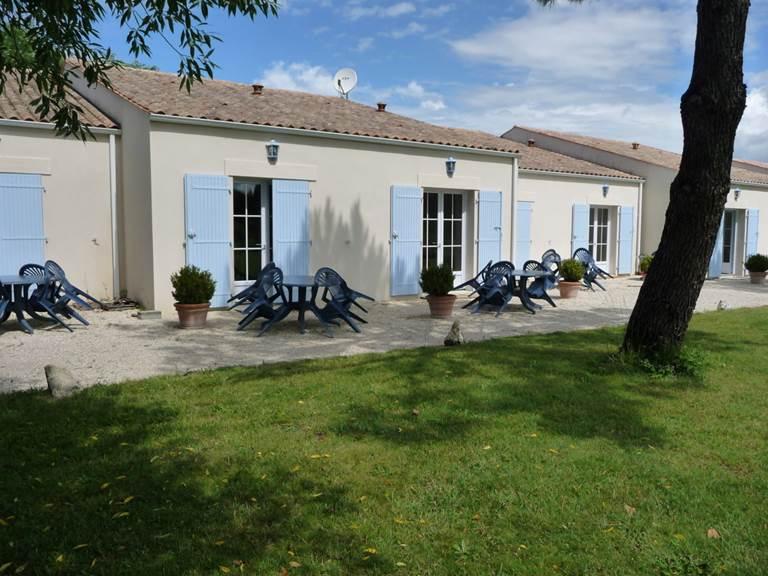 Maisonnette à louer, pour 2 à 5 personnes, de l'hôtel résidence les alizés sur l'île d'Oléron