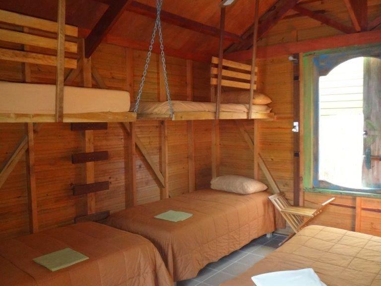 Intérieur bungalow griotte