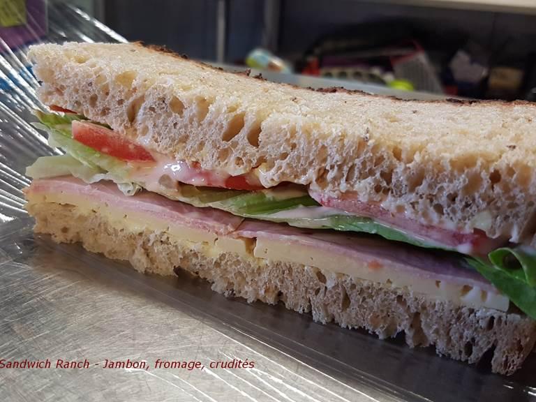 pique-nique sandwich Ranch jb à emporter partout avec vous