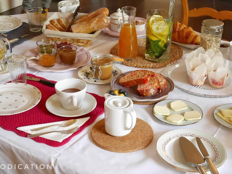 Le brunch au manoir