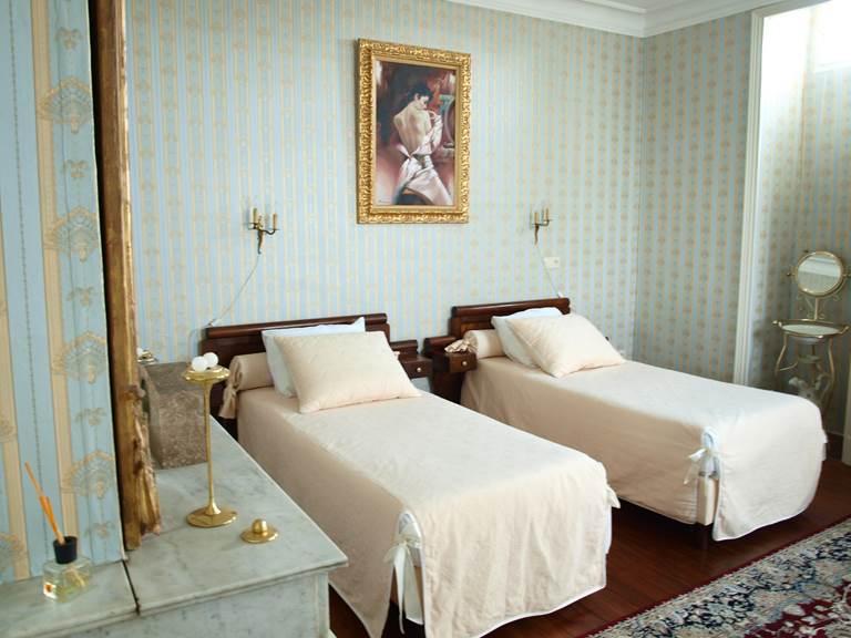 Suite Magnolia, les lits