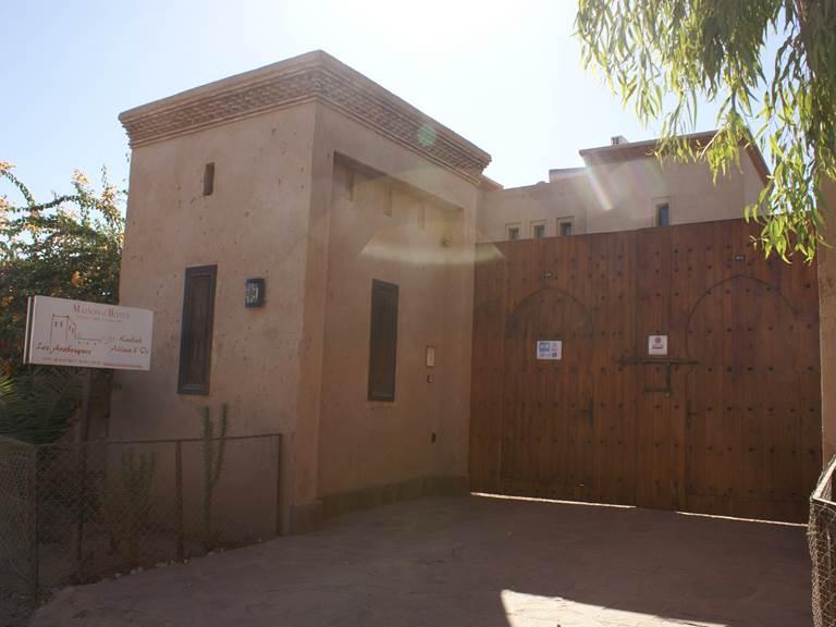 Portail automatique de la Kasbah Aâlma d'Or à Marrakech