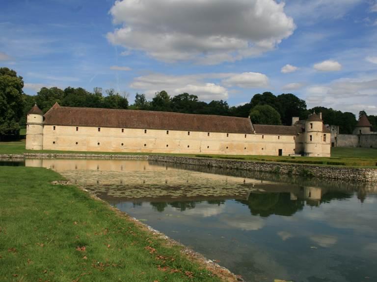 Le Domaine de Villarceaux, le chateau du bas