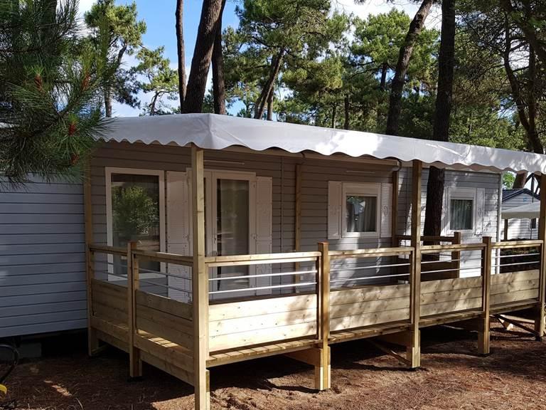 Mobil-Home Ceteau - Camping Les Pins d'Oléron - Ile d'Oléron
