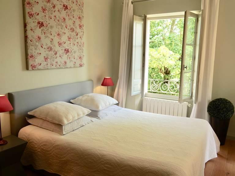 Chambre Jasmin des chambres d'hôtes la Rougeanne près de Carcassonne