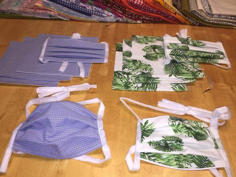 masques alternatifs tissu lavable
