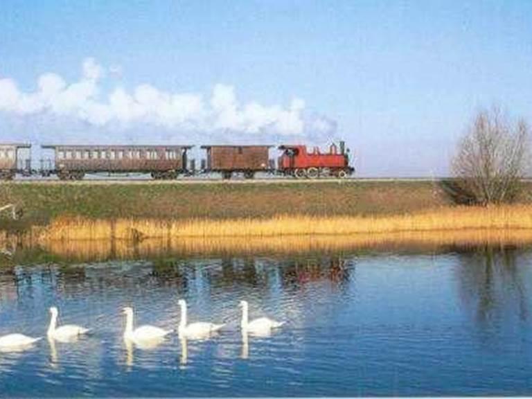 Petit train autour de la baie de Somme