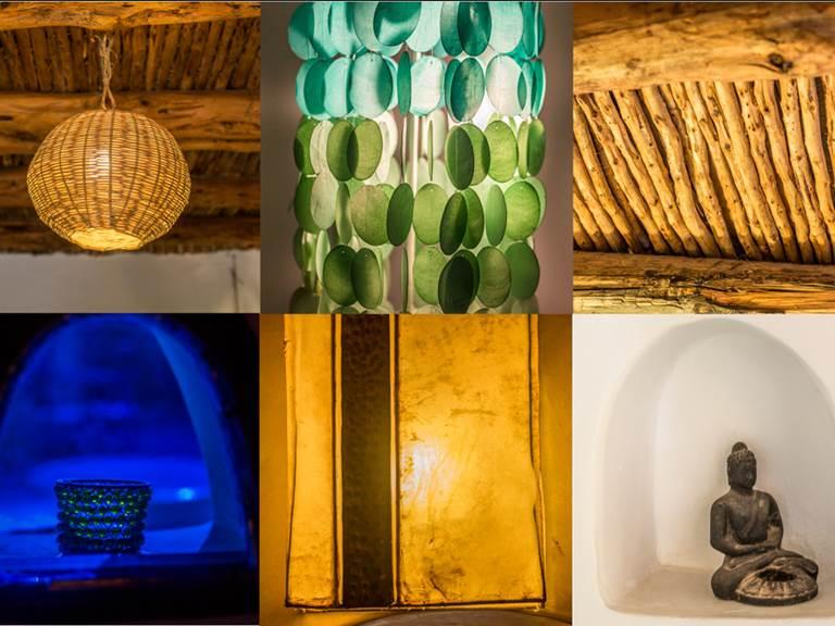 riad Baoussala Essaouira - suite Bleue - détails et ambiance