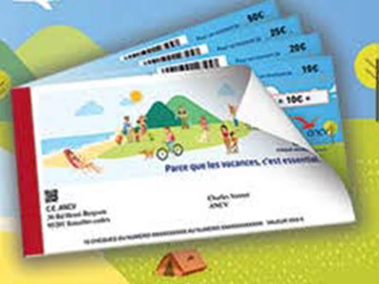 ANCV chèque vacance, ticket restaurant, chèque déjeuner