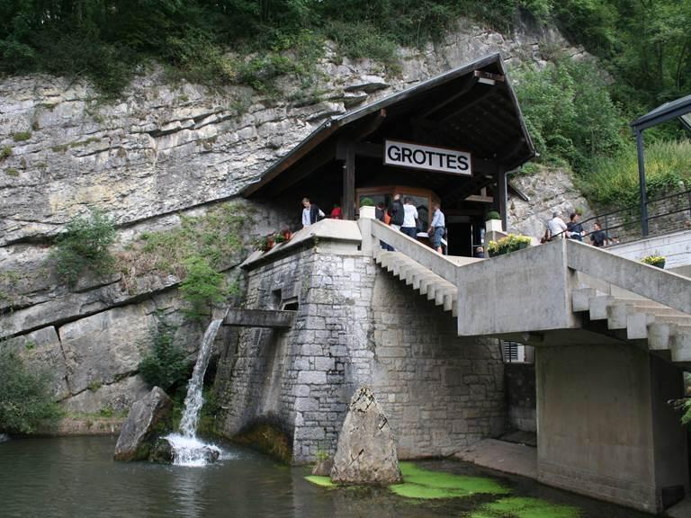 Grottes de Remouchamps source Wikipédia