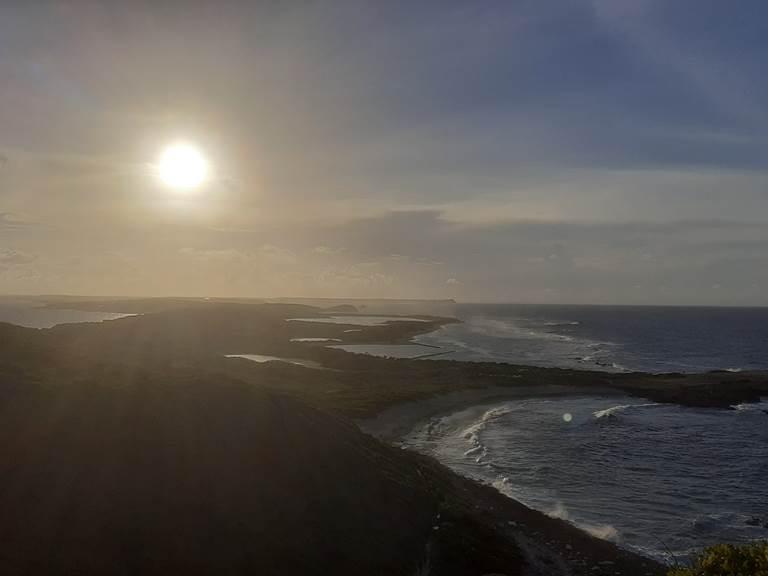 coucher soleil - saint francois