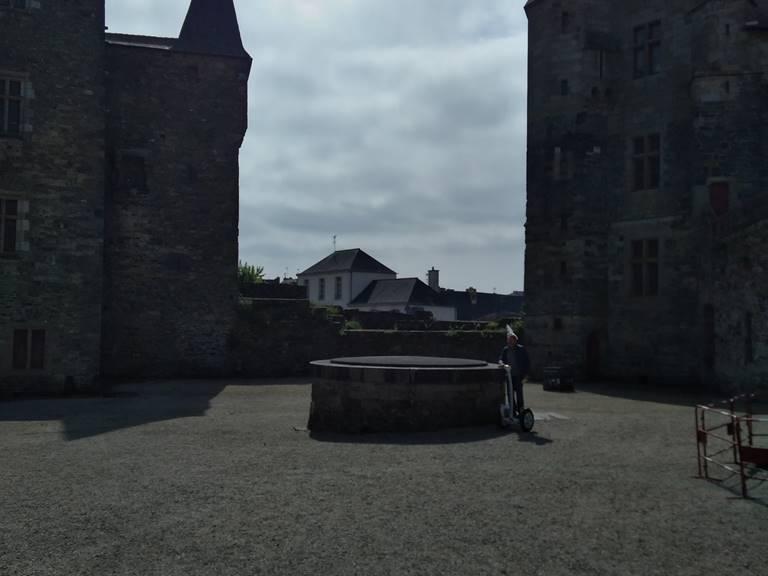 Balade segway chateau médiéval de Vitré