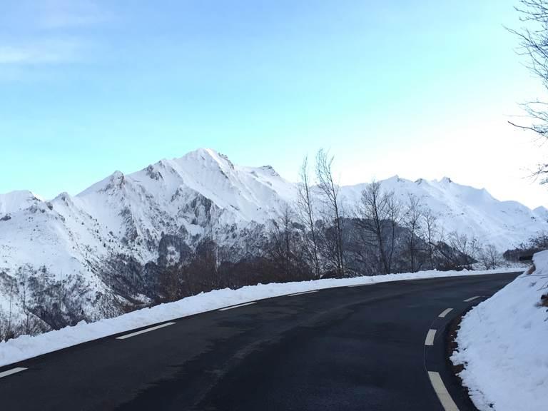 En route pour le Col du Soulor