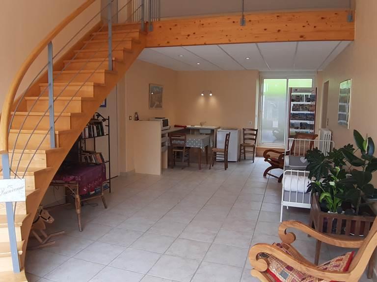Entrée des Chambres d'hôtes du Moulin de Montizeau