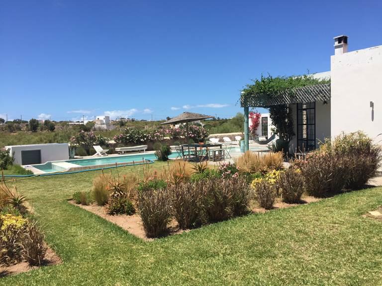 jardins et piscine