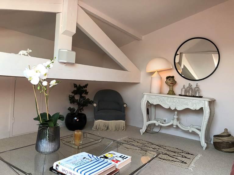 Suite Cyprès et Acacias - Salon TV
