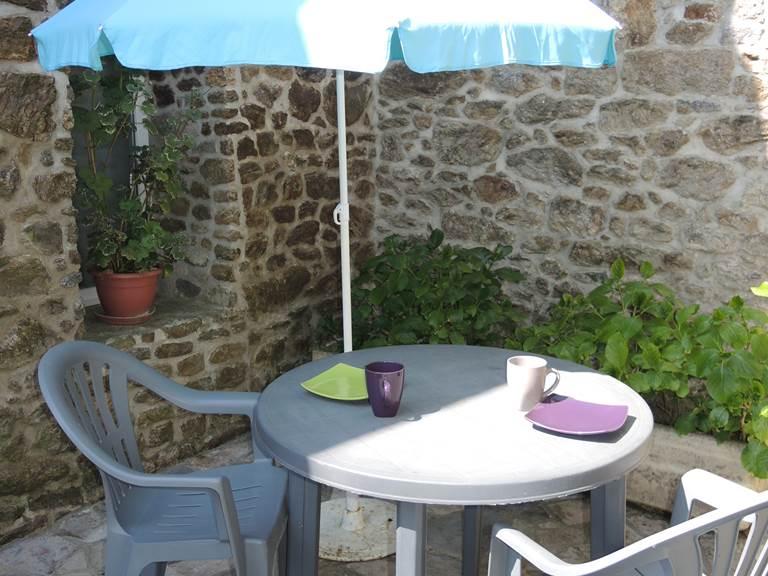 Clos de la Fontaine Dinard, terrasse du 1