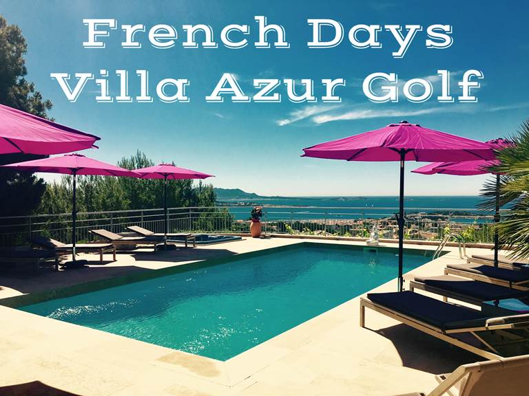 Promotion french Days Villa Azur Golf Bandol