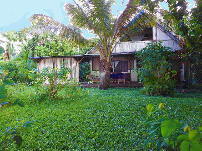 Villa Oenellia-extérieur-les Villas de Sainte Marie-Madagascar