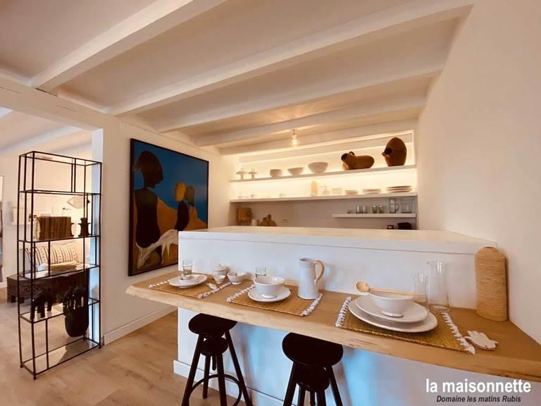 Cuisine de la Maisonnette des matins rubis (chambre d'hôte près de Toulouse)