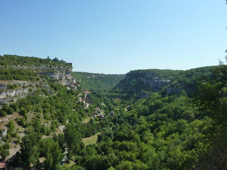 Rocamadour -Canyon de l_Alzou © Lot Tourisme - E