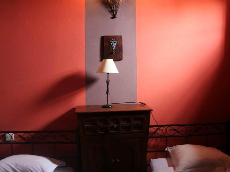 La chambre Berbère avec lits jumeaux