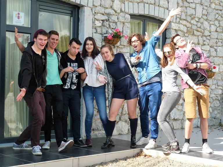 Très sympathique ce groupe et heureux de leur séjour