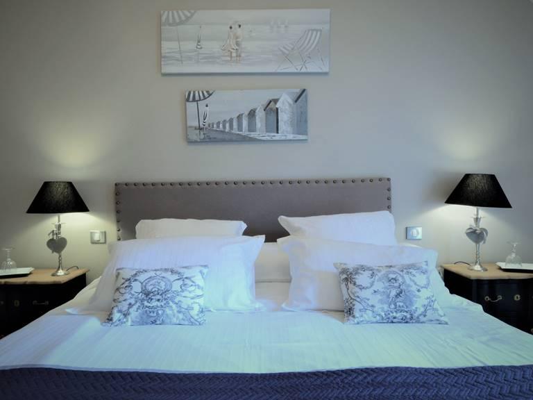 lit king size confort calme B&B Le Touquet