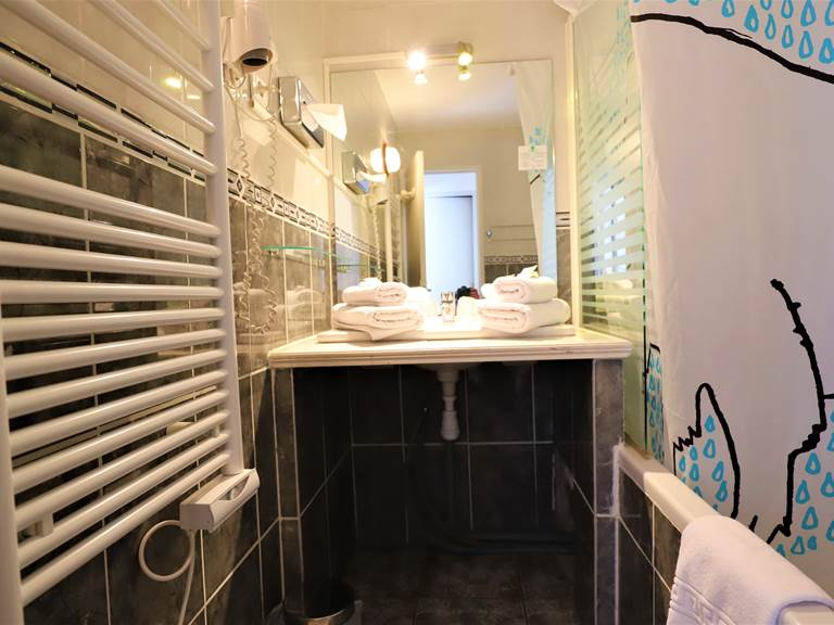 Douche sur baignoire