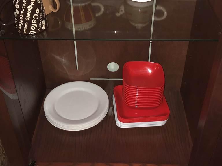 Coin vaisselle Gîte Intérieur (3)