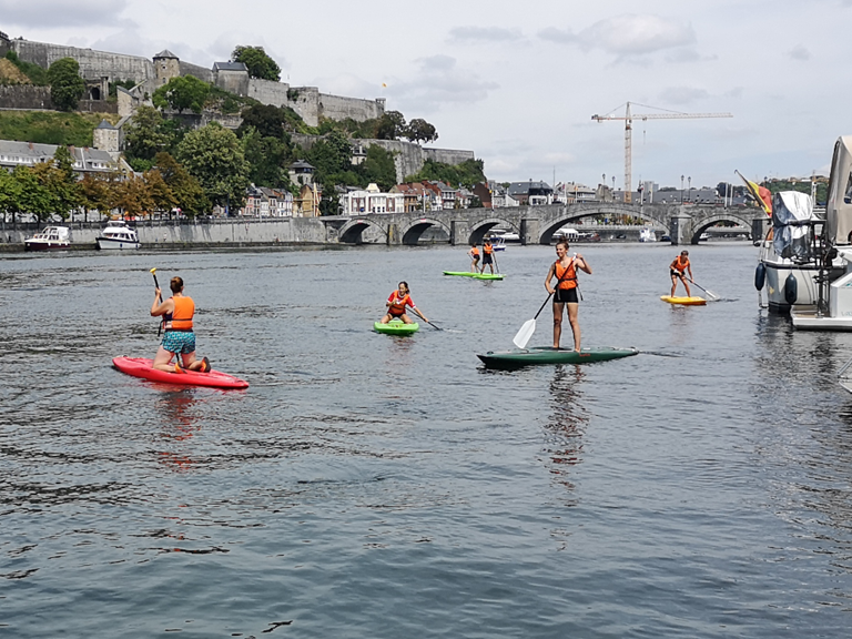 Paddle Les Capitaineries de Namur