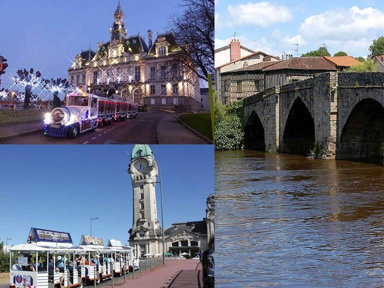 Le Petit Train Touristique de Limoges  tarif  préférentiel en formule combiné