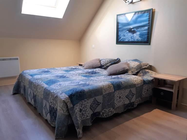 Clos de la Fontaine Dinard, chambre avec 2 lits du 1