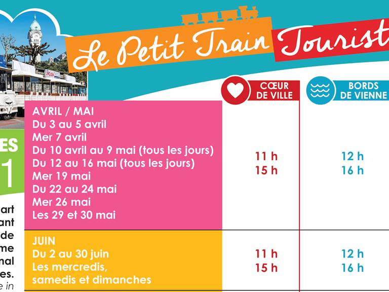Calendrier Le Petit Train 2021_2