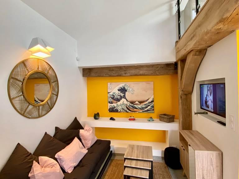 L'appartement Salamandre Salon