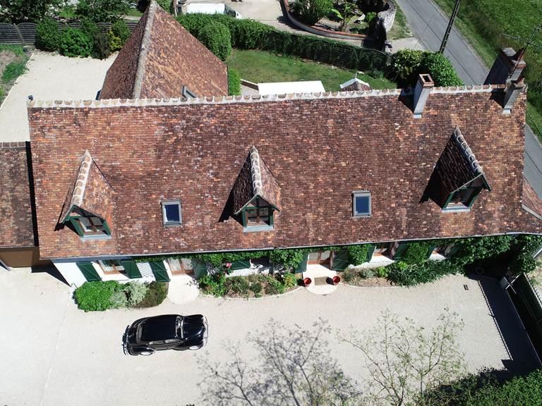 vue aerienne maison facade 4
